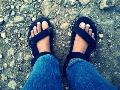Sandal 'Sakti' mulai berpetualang lagi \^_^/