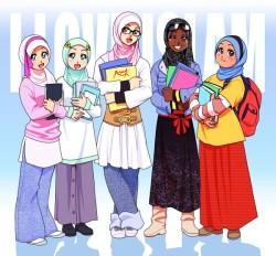 gambar-kartun-mahasiswa-muslimah-250x232