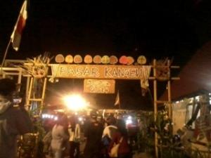 Pintu masuk Pasar Kangen